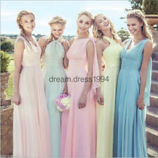 New Multi Way Convertible Bridesmaid Wedding Party Formal Ball Prom Dress Sz6-22