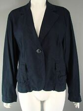 BRAND NEW WITH TAGS KALIKO NAVY BLUE LINEN/COTTON JACKET SIZES 8-18 - RRP £90