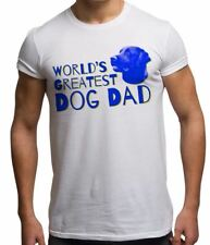 Worlds Greatest Dog Dad Funny Father's Day Novelty Dog Lover Mens T Shirt