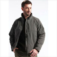 Tactical Jacket Soft Shell Commander OuterWear Sport Outdoor Military Waterproof
