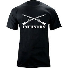 US Army Infantry Branch Crossed Rifles Graphic T-Shirt