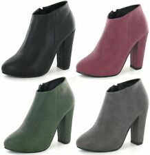 Ladies SALE Anne Michelle F50006 Synthetic Smart Ankle Boots