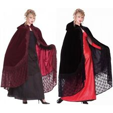 56 Velvet & Lace Victorian Cape Costume Halloween Fancy Dress