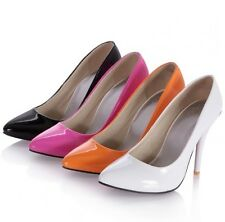 New Sexy Formal Lady Shoes Pointed Party Thin High Heel Women Shoes US Size s382