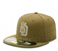 SAN DIEGO PADRES 5950 Alternate Cap MLB Fitted Baseball Hat On Field New Era