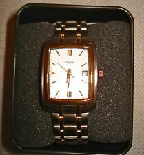 AUTHENTIC NWT FOSSIL PR5327 Women's gold Tone Stainless Steel Bracelet watch