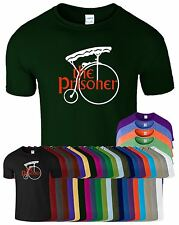The Prisoner Top New Fashion Penny Farthing Loose Fit Mens Crew Neck Tshirt
