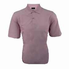 Greg Norman Mens Golf Polo Pink - Play Dry