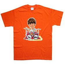 KEITH MOON T-SHIRT in 15 Colours NEW sizes S M L XL XXL rocktoons toons