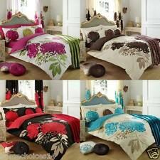 Kew Floral Duvet Cover Set Quilt Cover Bedding Set OR Matching Curtains