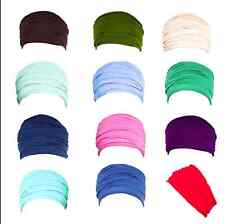 Boho Wide Yoga Headband Elastic Fitness Hair Band Sports Soft Stretch