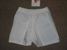 NEW Bal Togs White Dance Yoga Jazz Gymnastics Booty Shorts 814 Adult XS
