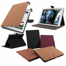 New Luxury Leather Smart Case Cover Stand For Apple ipad 2 3 4 5th Gen Air IG