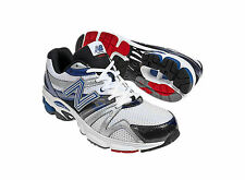 New Balance Mens M660V3 White Blue Support Running Sport Trainers Shoes 8 US