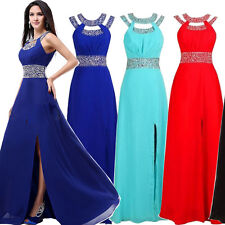 New Long Sequins Evening Ball Gown Cocktail Party Prom Formal Bridesmaid Dresses