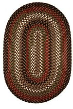 RUG BRAIDED RUG CARPET ING BRAIDED AREA RUGS  DECOR BRAIDED BROWN RUGS NEW