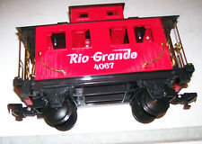 Shorty RIO GRANDE G Gauge Caboose Car for Garden Railroad RR