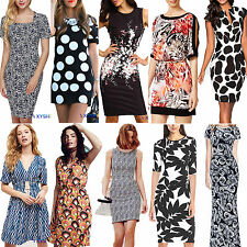 Womens Floral Print Mini/Midi/Maxi Sun Dress Casual Party Sexy Clubwear Sundress