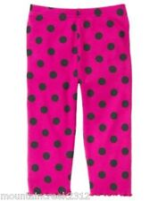 GYMBOREE Leggings MERRY & BRIGHT 3 6 12 18 24 months 2T Cotton Pink NEW