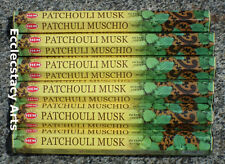 Hem Patchouli Musk Incense Sticks 20-40-60-80-100-120 Incense U Pick Amount