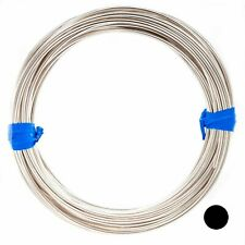 925 Sterling Silver Wire Round Dead Soft 2 4 6 8 10 11 12 13 Gauge Craft Jewelry