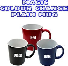 Magic Plain Mug Heat Sensitive Color Change Coffee Milk Mug Cup Gift Hot Tea