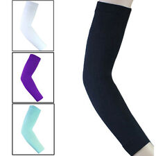 Tennis Sports Elastic Compression Long Arm Elbow Sleeve Brace Support Pain Band~