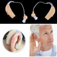 HOT Rechargeable Hearing Aids Personal Sound Voice Amplifier Behind The Ear GY