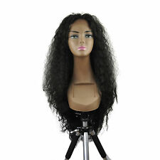 """14-26"""" Front Lace Wigs Loose Wave Synthetic Ombre Piano T Color Full Black 1B AU"""