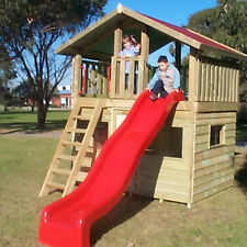 NEW Wooden Cubby House The Monty Fort