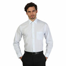 Brooks Brothers Mens Azzurro Thin Stripe Slim Fit Long Sleeve Formal Shirt