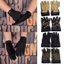 Outdoor Cycling Gloves Motorcycle Tactical Airsoft Hunting Full Finger Gloves