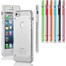 Ultra-Thin Clear Soft Gel Hard Phone Case Cover For Apple iPhone Samsung Galaxy