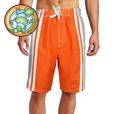 Sandole Men's Mens Board shorts Look swim Trunk, Orange S M L XL Code: FORM