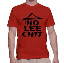 Men's T Shirt Ho Lee Chit Adult Humor S Funny Tee Asian Sleeve T-Shirt Chinese
