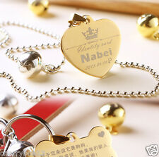 Cute Custom Personalized Pet Dog Name ID Tag Pet Tags Cat ID tag - Engraved FREE