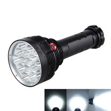 Rechargeable 22000LM 16*CREE XM-T6 LED Flashlight Torch Hunting Lamp 6x18650+CH