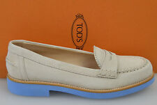 TOD'S SCARPA MOCASSINO DONNA-WOMAN SHOES N. 36,5-37 BEIGE XXW0RM0H210HR0B010
