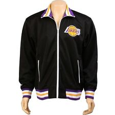 Mitchell And Ness Los Angeles Lakers NBA Preseason Warm Up Track Jacket (black)