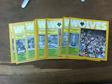 Wolves HOME programmes choose from list FREE UK P&P