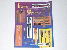 Collector's Guide to Letter Openers by Everett Grist 1998
