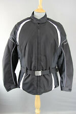 FRANK THOMAS LADY RIDER AQUAPORE BIKER JACKET + CE ARMOUR & THERMAL LINING: S&XL