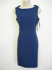 AUTHENTIC NWT Calvin Klein Dress Sleeveless Side Zip Sheath Dress size 6 or 8