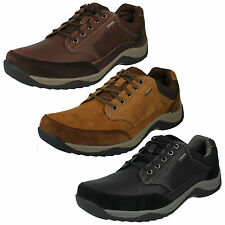 MENS CLARKS LACE UP LIGHTWEIGHT WATERPROOF OUTDOOR TRAINERS SHOES BAYSTONEGO GTX