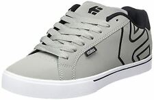 Etnies Fader 1.5 Grey Black Mens Leather Trainers Shoes