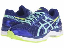 ASICS GEL EXALT 3 BLUE MINT YELLOW 2016 WOMENS SHOES **FREE POST WORLDWIDE