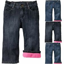 Old Navy Girls Micro Performance Fleece-Lined Jeans 18-24 M