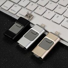 Hot i-Flash Drive USB Memory Stick HD U-Disk 3 in 1 for Android/ios iPhone PC