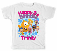 Personalized Bubble Guppies Birthday Girl T-Shirt