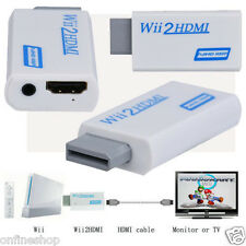Full HD HDMI 1080P Converter Adapter With 3.5 mm Audio Output For Wii 2 CHEAP